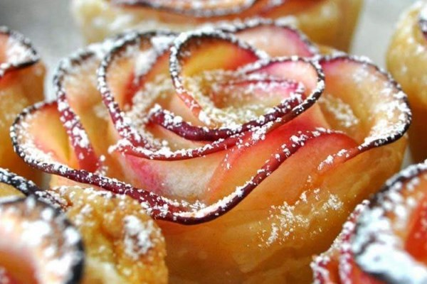 pečene jabuke u obliku ruže_m