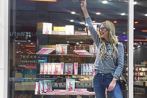 Zorannah u top 10 najprodavanijih knjiga!