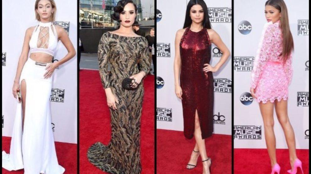 AMAs 2015 moda sa crvenog tepiha