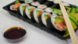Kako se jede sushi