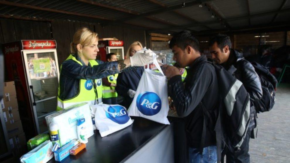 Procter & Gamble pomaže Srbiji u krizi sa izbeglicama