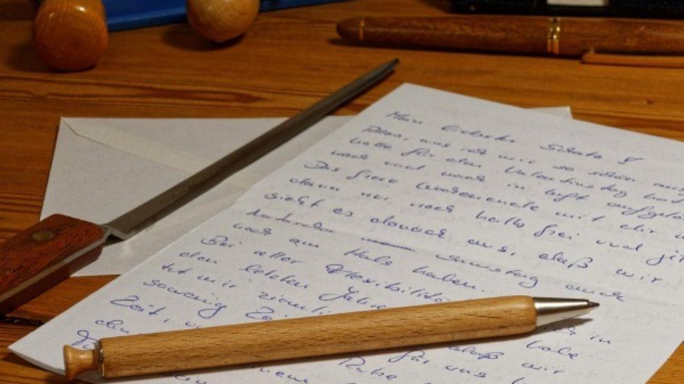 Pisanje pisama – zaboravljen ritual