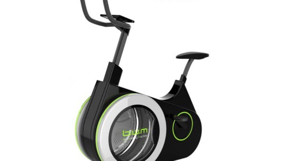 Bicikl za vežbanje i pranje veša