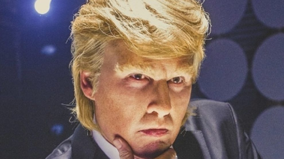 Johnny Depp kao Donald Trump