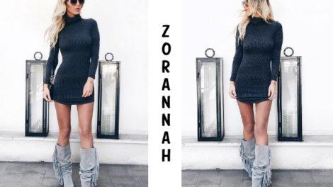 Zorannah ne krije svoj stomak
