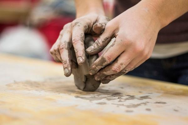 ti to možeš - rad sa glinom