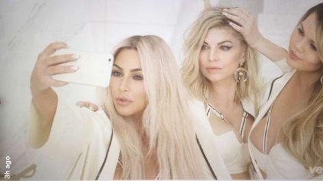 Kim Kardashian u seksi spotu sa Fergie i Chrissy Teigen!