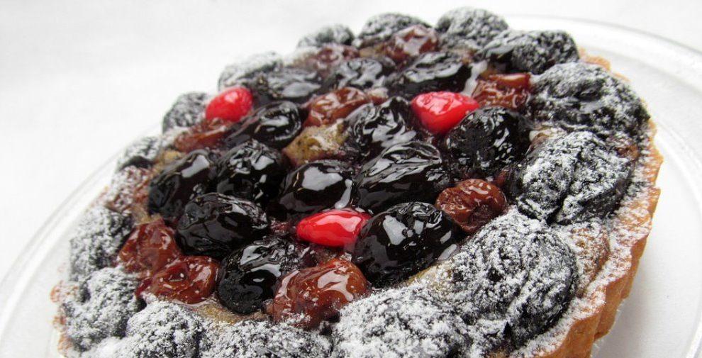 Zdravi voćni tart zalogaji