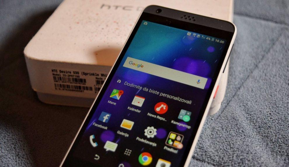 HTC Desire 530 – telefon od kojeg se počinje