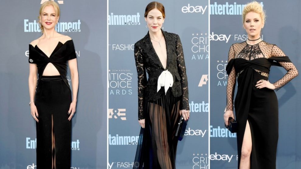 Critics Choice Awards moda sa crvenog tepiha