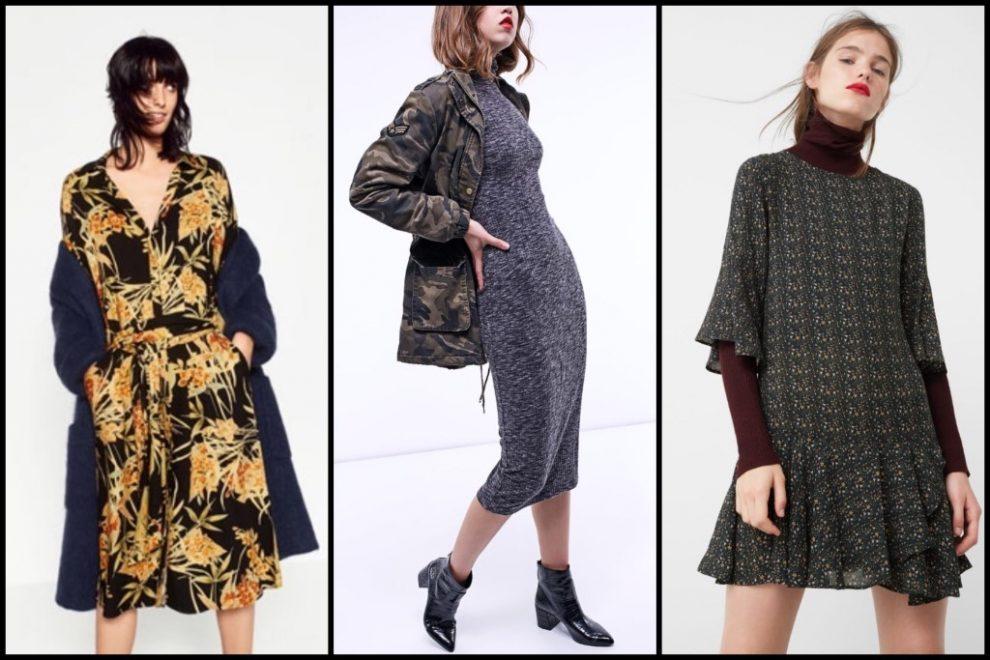 Kako nositi  haljinu zimi?