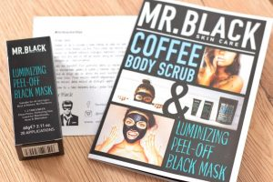 Crna maska za lice Mr. Black