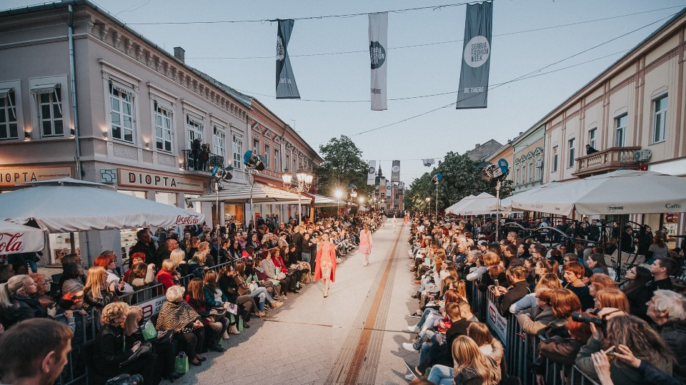 Spektakularno otvaranje Serbia fashion Weeka