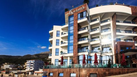 Hotel Kalamper – novi biser na obali mora Crne Gore