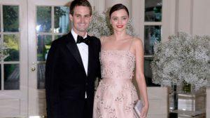 Snapchat mlada: Miranda Kerr se udala za vlasnika Snapchata