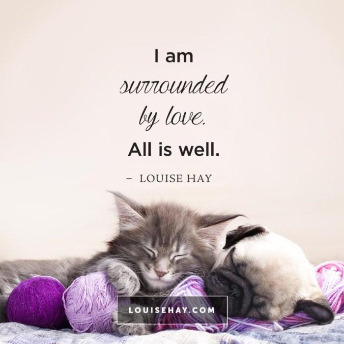 lujza hej afirmativni citat o okruženosti ljubavlju