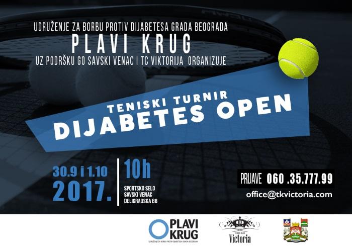 reklamni flajer za dijabetes open 2017
