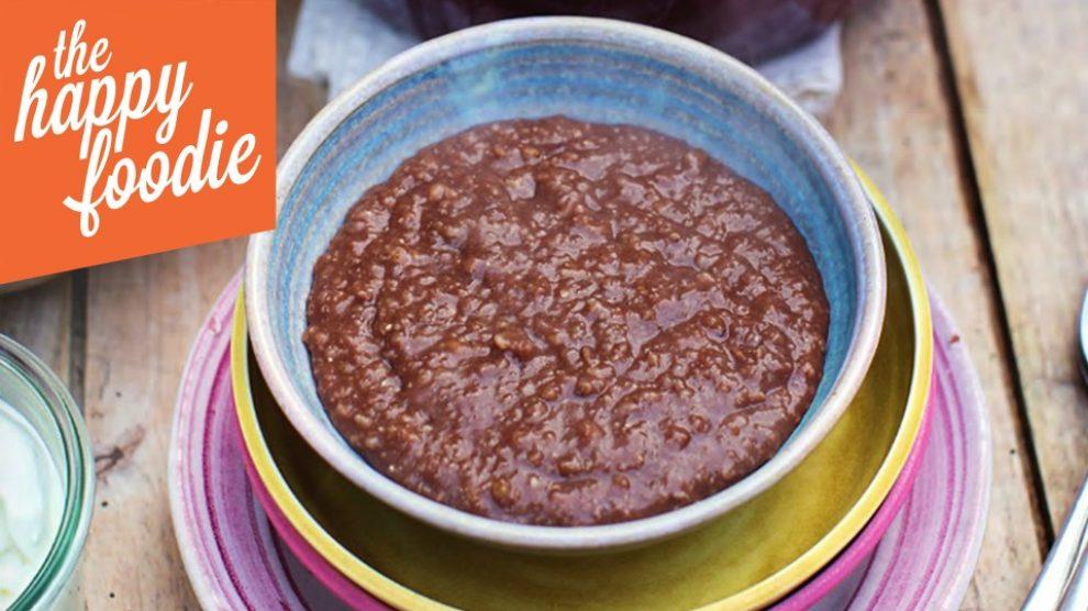 Zdrava čokoladna kaša by Jamie Oliver