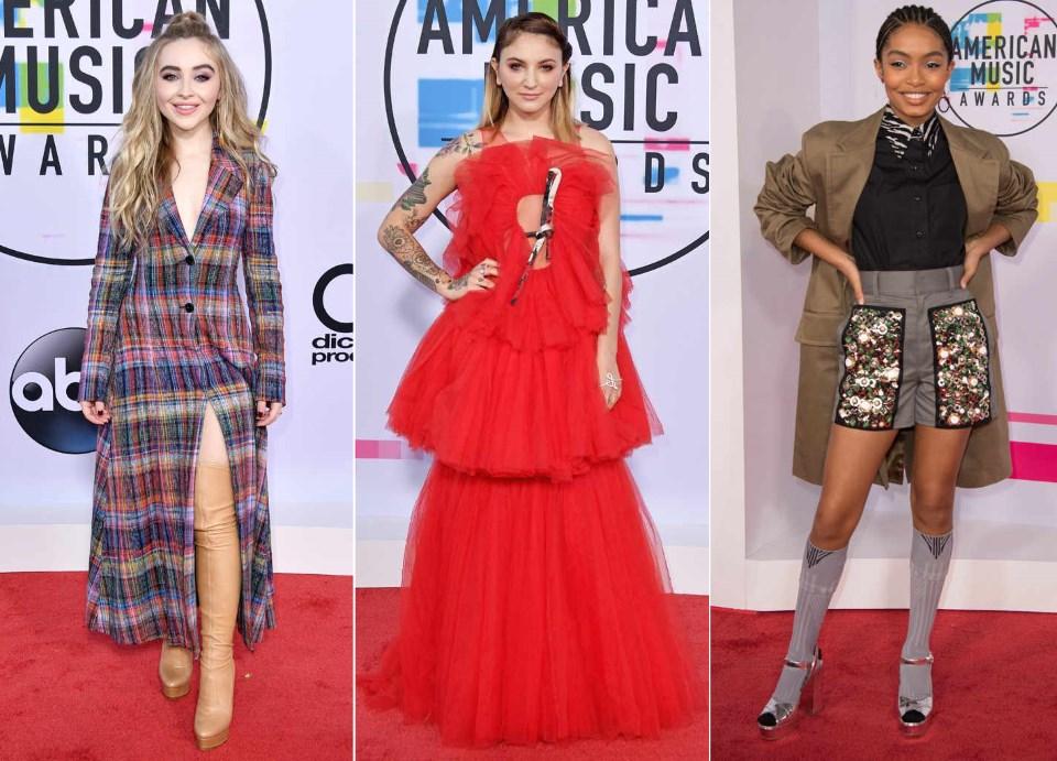 AMAs 2017 moda sa crvenog tepiha