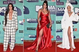 MTV EMA 2017 moda sa crvenog tepiha