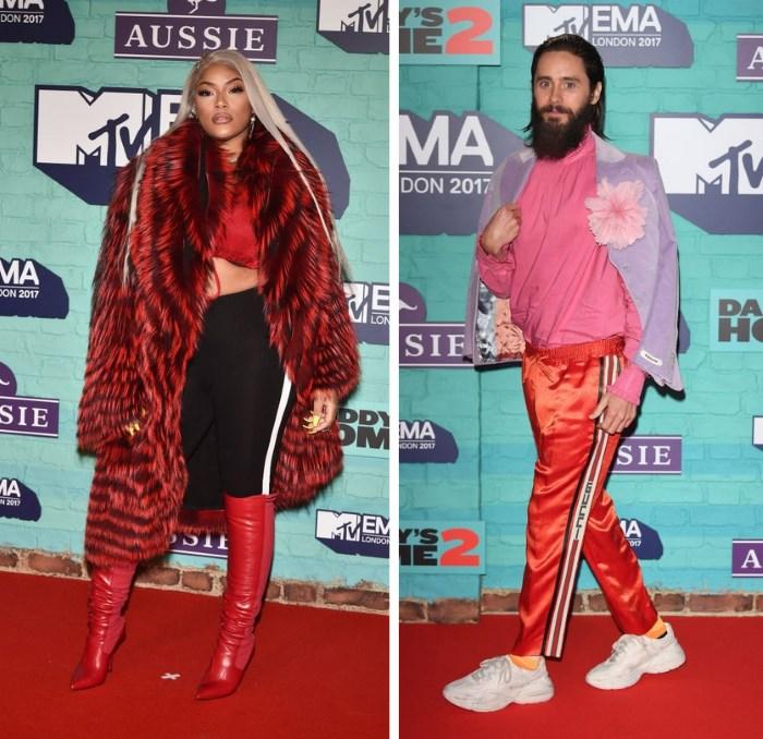 mtv ema 2017 moda sa crvenog tepiha primeri