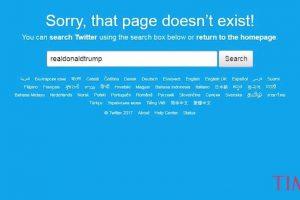 Drama u Americi: Tramp ostao bez naloga na Twitteru!