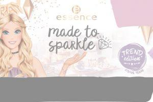 essence made to sparkle kolekcija šminke