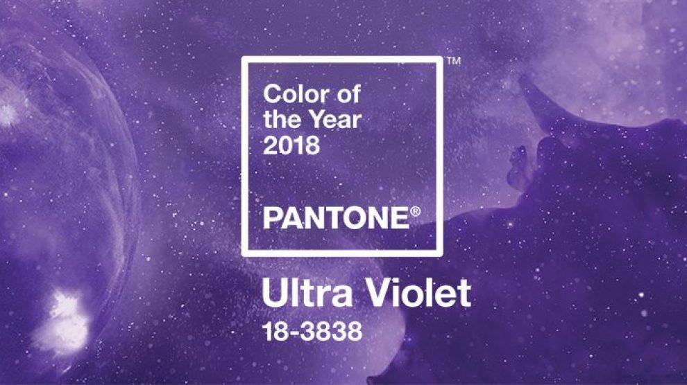 Ljubičasta je Pantone boja godine 2018