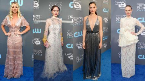 Critics Choice 2018 moda sa crvenog tepiha
