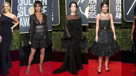 Golden Globes 2018 moda sa crvenog tepiha
