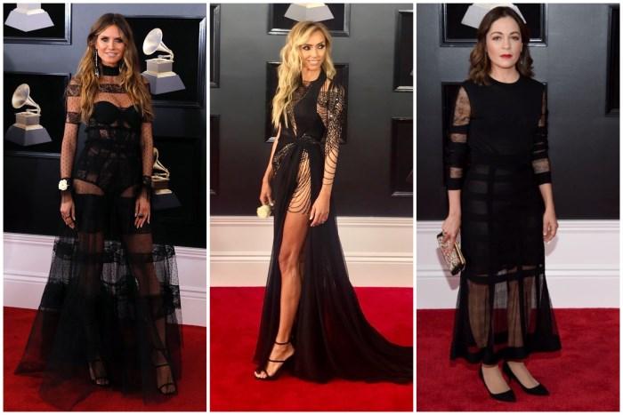 crne haljine na grammys 2018