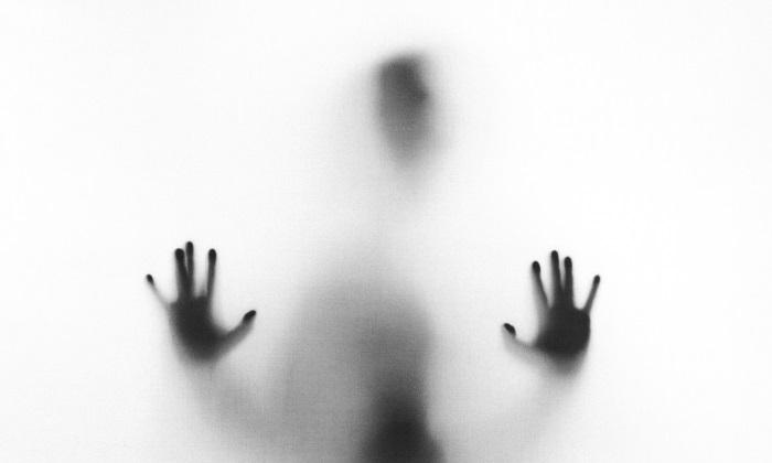 crno bela silueta osobe