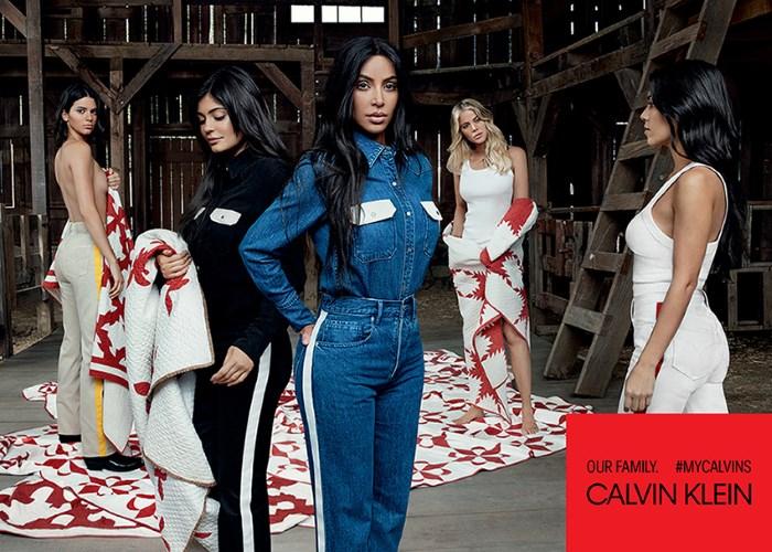 sestre kardashian-jenner zaštitna lica calvin klein kampanje