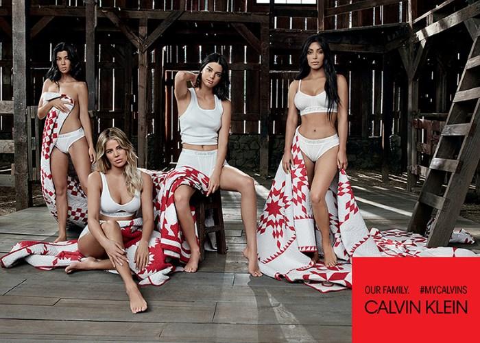 kardashian-jenner zaštitna lica caalvin klein kampanje