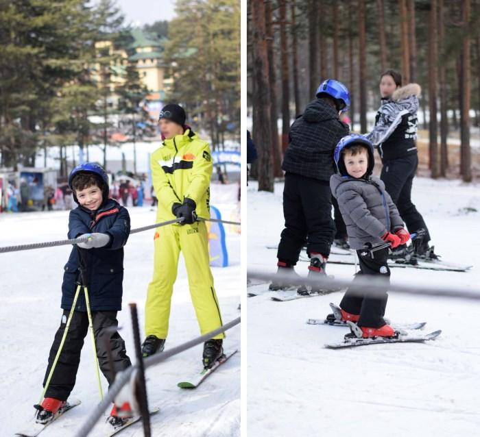 dečaci na skijama