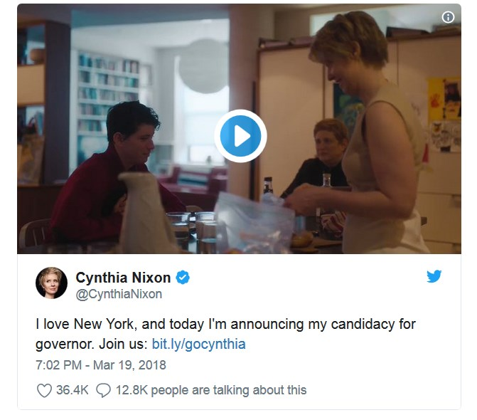 miranda novi guverner njujorka najava na twitteru