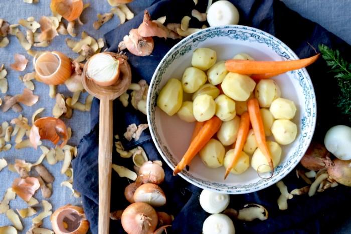 oljušćeno povrće za holandski pire krompir
