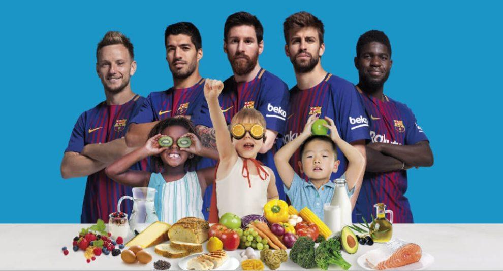 Jedi kao šampion – kompanija Beko i FK Barselona u borbi protiv gojaznosti kod dece