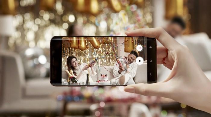 korišćenje mobilnih teefona tokom venčanja samsung galaxy