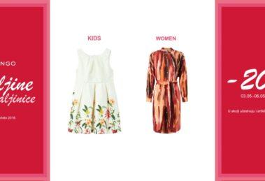 Majsko MANGO sniženje: haljine i haljinice na popustu