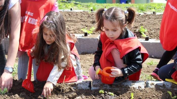 projekat mali poljoprivrednici deca sade povrće