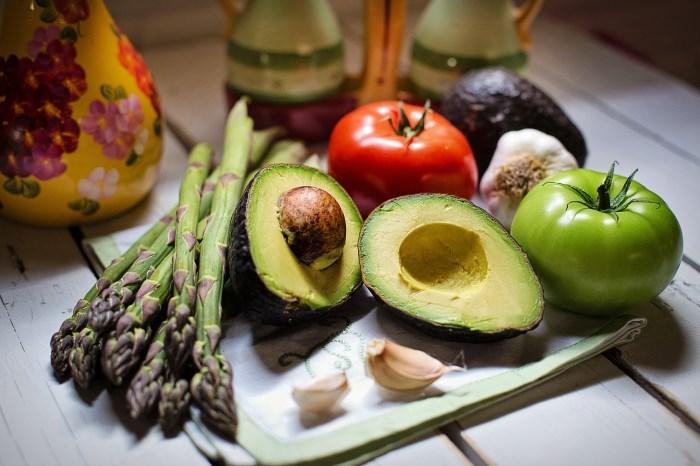 avokado sa povrćem
