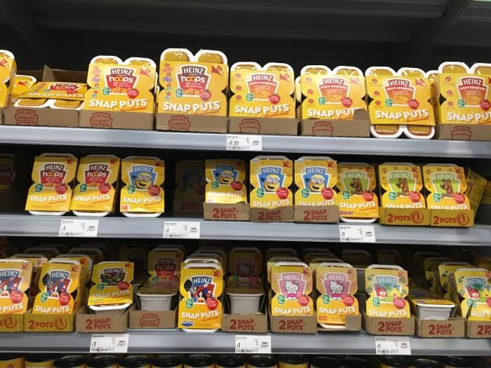 manje-bacanja-hrane-hrana za decu u supermarketu
