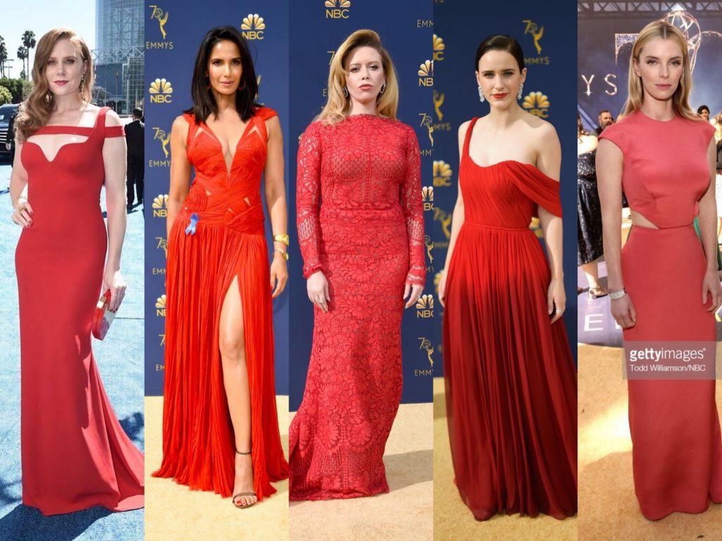 emmys 2018 moda crvena boja