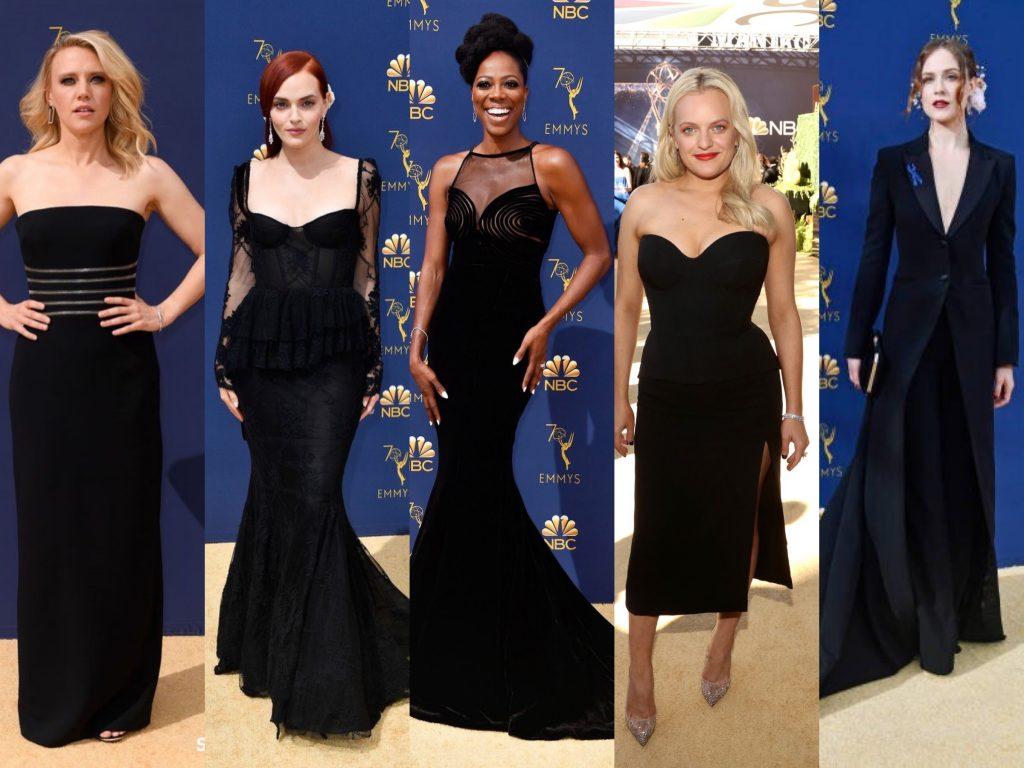 emmys 2018 moda crna boja