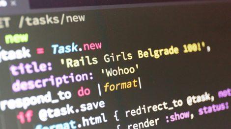 Uvod u web programiranje za devojčice – Ruby Girls radionica