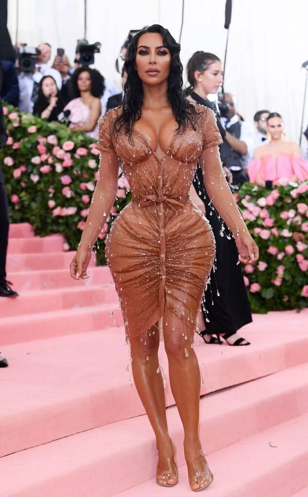 kim kardashian met gala 2019 moda