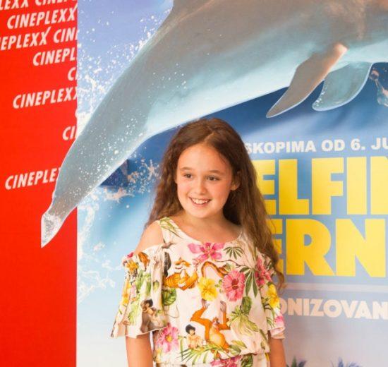 Dečiji film Delfin Berni premijerno prikazan u Beogradu