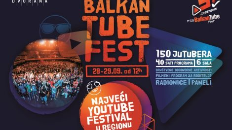 Peti Balkan Tube Fest sa 150 najvećih You Tube zvezda regiona!