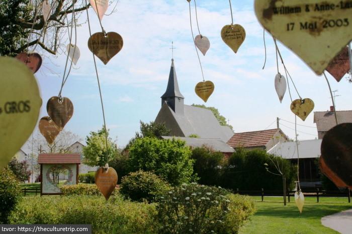 običaji za Dan zaljubljenih selo Valentin